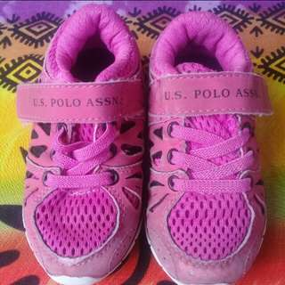 US Polo Baby Rubber Shoes (6mos in tag)