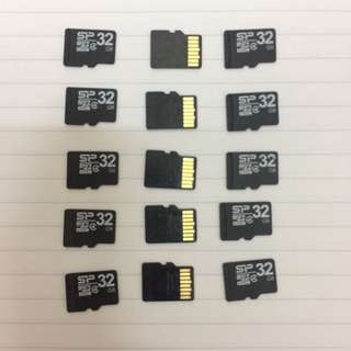 32GB Memory Cards ( 15 pcs)