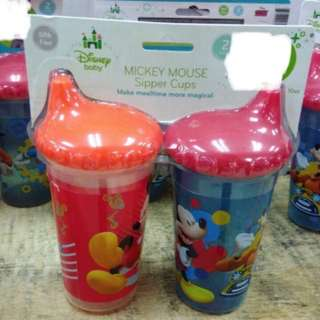 Disney Baby Mickey Mouse Sipper Cups 2pc