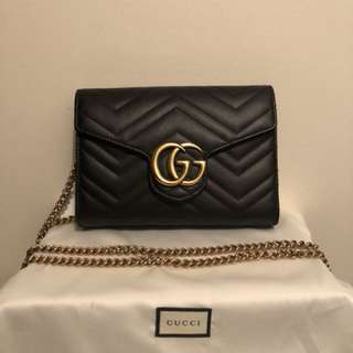 Authentic Gucci Marmont Mini Bag