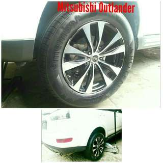 Tyre 235/60 R18 Membat on Mitsubishi Outlander 🐕 Super Offer 🙋‍♂️