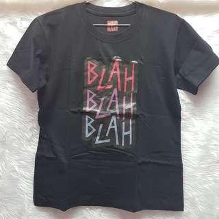 Kesha Blah Song Lyrics Black Pink Violet Blue T-shirt