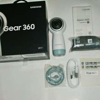🚚 aaL皮商旋.全新附盒Samsung Gear 360 2017年製造 環景攝影機 型號:SM-R210(經銷展機)