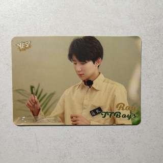 Tfboys 王源 yes card