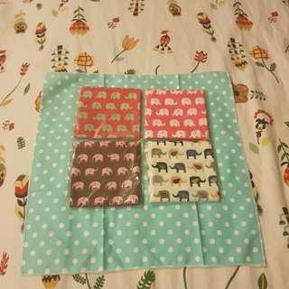 4 pcs Handkerchief