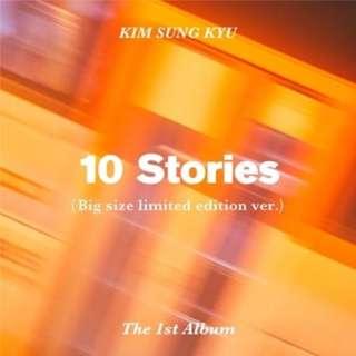 [ Kim Sung Kyu ] 10 Stories (Limited Edition) Album
