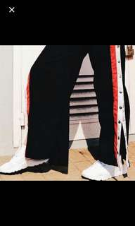 snap button pants
