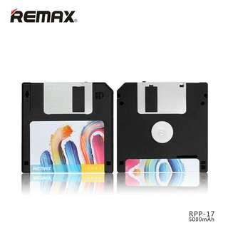 Remax Disk Power Bank 5000mAh - RPP-17 - Black