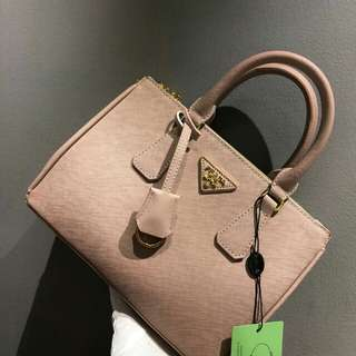 Prada Saffiano Light Pink Color