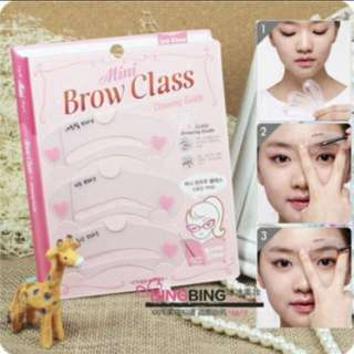 Etude Eyebrow Template (Brow Class)