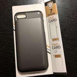 韓國 islide iphone7 iphone8 case 可放八達通