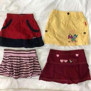 Skirts combo