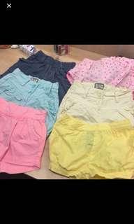 Girl bundle shorts
