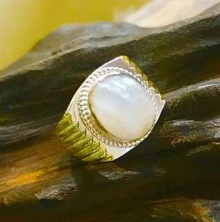 Coconut/Kelapa pearl ring
