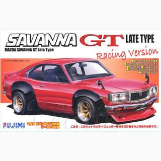 1:24 MAZDA SAVANNA GT Late Type Racing Version 萬事得 RX3