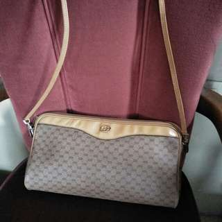 Authentic Gucci Shoulder Clutch Bag not Hermes Prada LV Louis Vuitton