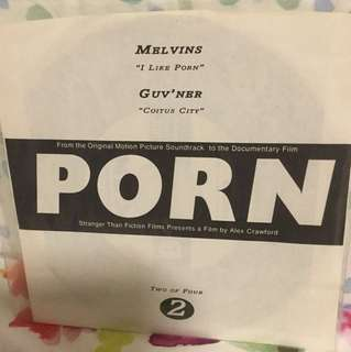 "Melvins / Guv'ner - 7"" vinyl record split single - grunge era"