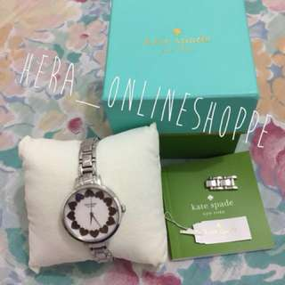 Authentic Kate Spade Gramercy Hearts Watch
