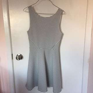 H&M strips dress