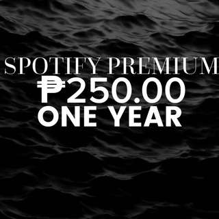 ONE YEAR SPOTIFY PREMIUM