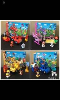 Instock now!! Paw Patrol Lego type toy brand new buy one set-$25 buy 4 set -$90