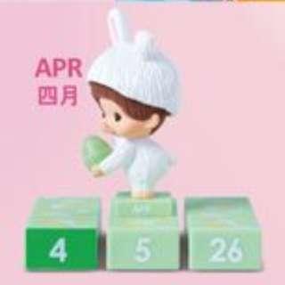 OK便利店 「Monchhichi『齊齊疊精品』4月份