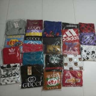 Tshirts,Jersey,Hoodie and Dresses Range Below $15
