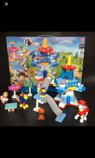 PO Paw Patrol kids toys ..t preorder take 10-14days so order now to avoid delay *chase figurines got sound when u press on the side