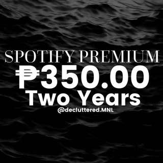 TWO YEARS SPOTIFY (PROCESS FIRST)