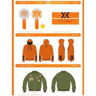 【Preorder】Shinhwa Twenty Fanparty [All Your Dreams] Official Goods