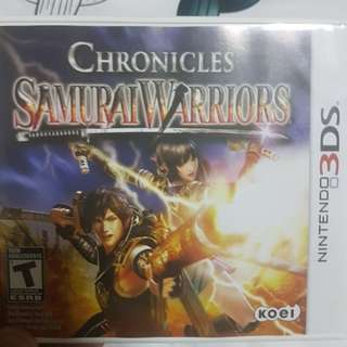 Chronicles Samurai Warriors