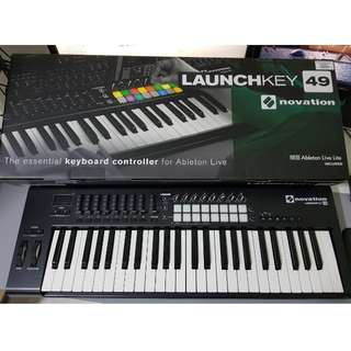 Novation Lauchkey 49 MK2 Keyboard Controller