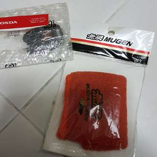 Mugen sock sold! Left with Red H key cover