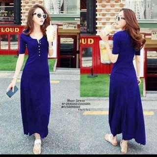 Blue Long dress