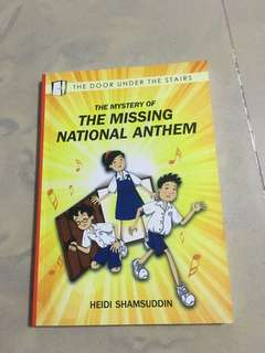 The missing national anthem