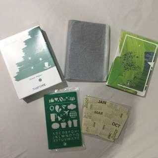 Starbucks Planner 2018 Small Green
