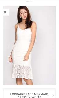 TDC Lace mermaid dress