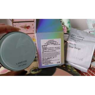 🚚 LANEIGE 蘭芝BB舒芙蕾水凝霜-毛孔隱形升級版 SPF50+ PA+++ 色號#13