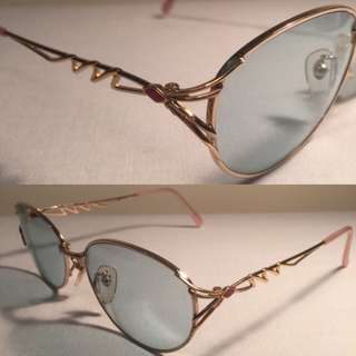 COURREGES Women Eye / Sunglasses 4714 57 17 Made in Japan