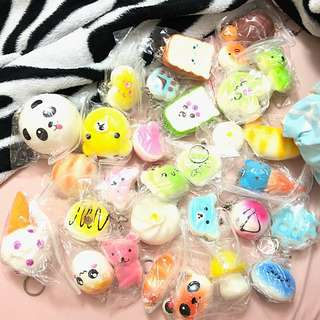 Squishy (₱50 each)