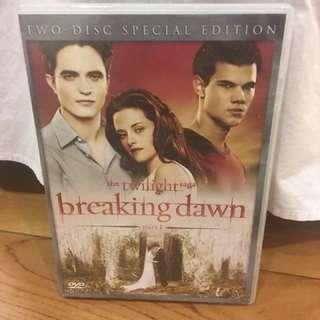 Twilight Break Dawn Part 1 Special Edition