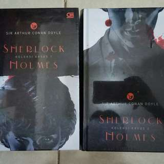 Novel Sherlock Holmes koleksi kasus 1+2 (harga utk 2buku)