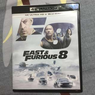 Fast & Furious 8 (4K Ultra HD + BluRay)