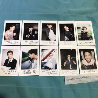 SVT Seventeen BOYSBE Official Photocards