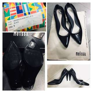 Melissa Black High Heel Shoe