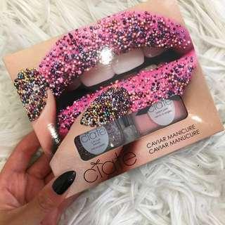 Ciate manicure caviar rainbow pearl nail polish