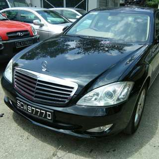 MERCEDES S300 7G-TRONIC 2008 LOW MILAGE