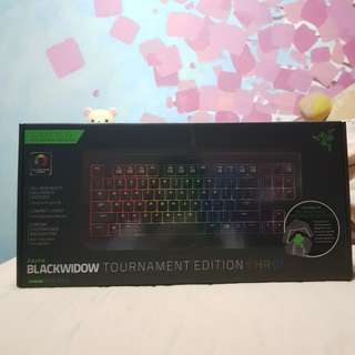 Razer Blackwidow Chroma Tournament Edition(negotiable)