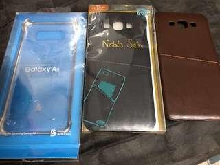 Samsung Galaxy A8 3個殻