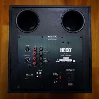 德国HECO Slam 10A 十寸超低音炮